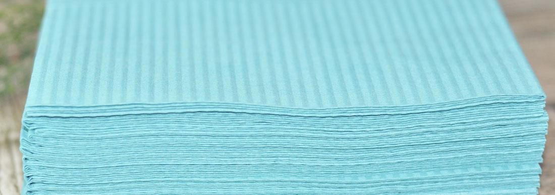 Салфетки одноразовые стоматологические 2-х и 3-х слойные