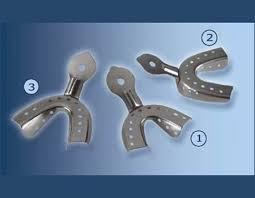 Ложка оттискная стоматологическая для верхней челюсти